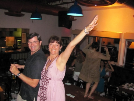 Liam Crotty & Peggy Russell at Taverna Opa