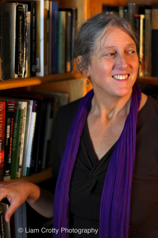 Poet and Stonecoast Creative Writing Program Director Annie Finch